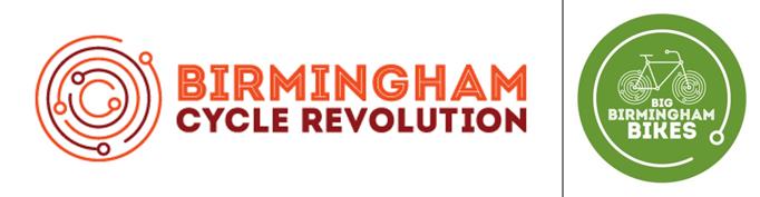 Birmingham Cycle Revolution and Big Birmingham Bikes
